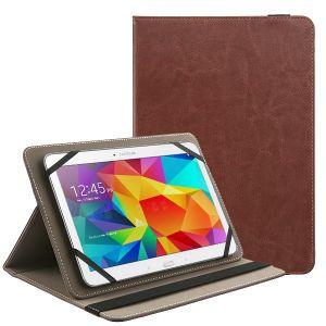 Universal Asmyna - Myjacket 9-10 Inch Tablet Case - Brown